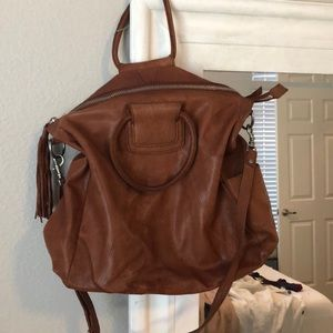 Faux Leather Boho Bag